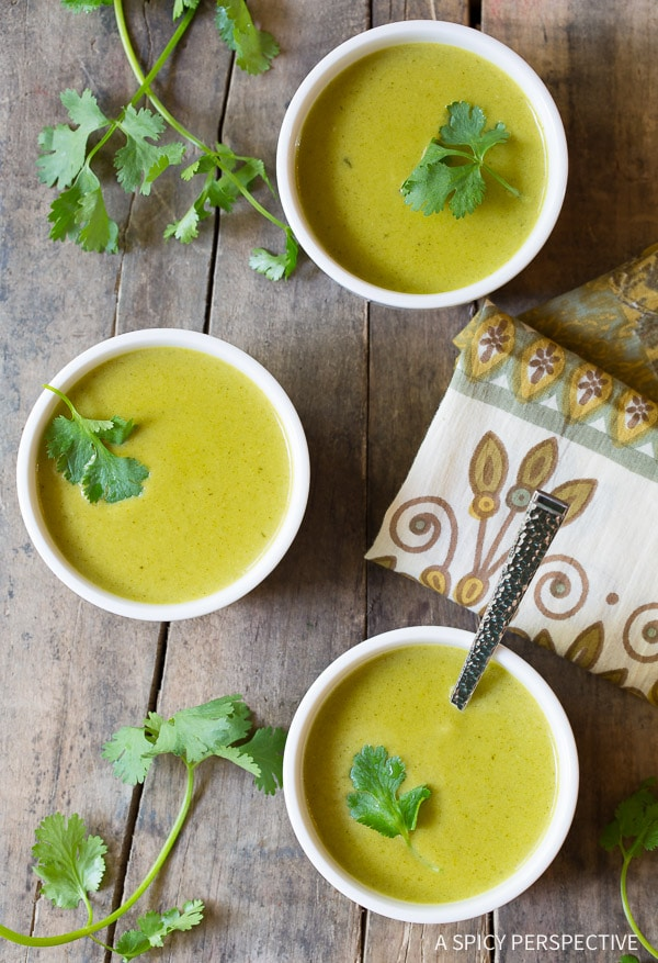 Creamy Poblano Pepper Soup