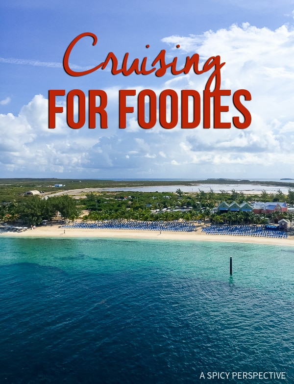 Cruising for Foodies - Finding the Best Cruises for Serious Food Lovers on ASpicyPerspective.com! #travel