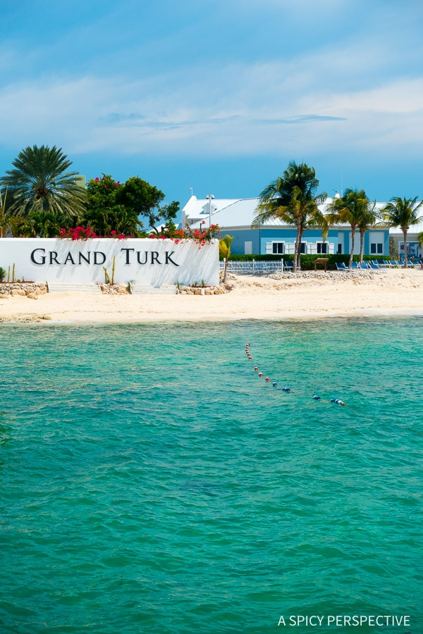 Cruising for Foodies - Carnival Sunshine in Grand Turk