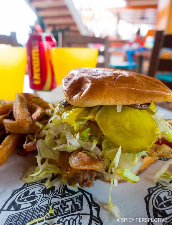 Cruising for Foodies - Carnival Sunshine Guy's Burger Bar