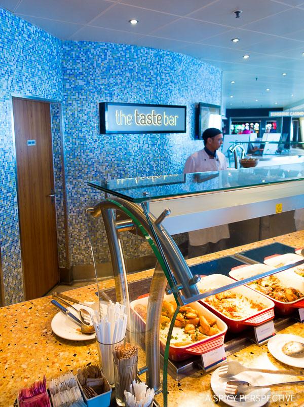 Cruising for Foodies - Carnival Sunshine Taste Bar