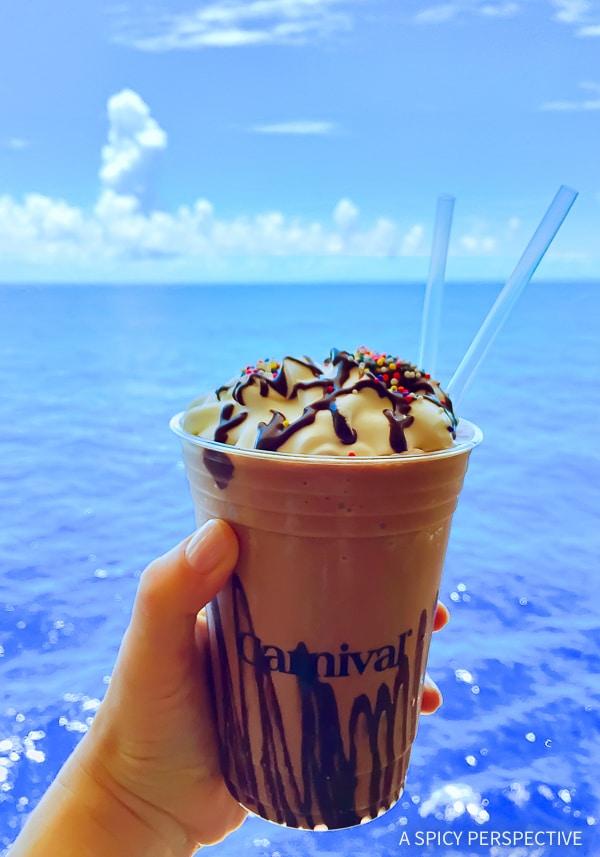 Cruising for Foodies - Carnival Sunshine Shake Shack