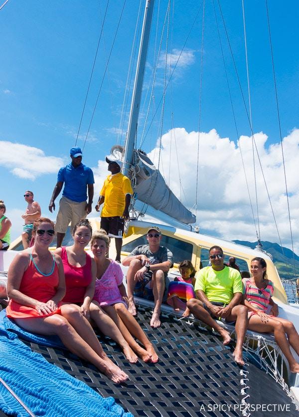 Cruising for Foodies - Carnival Sunshine in Saint Kitts
