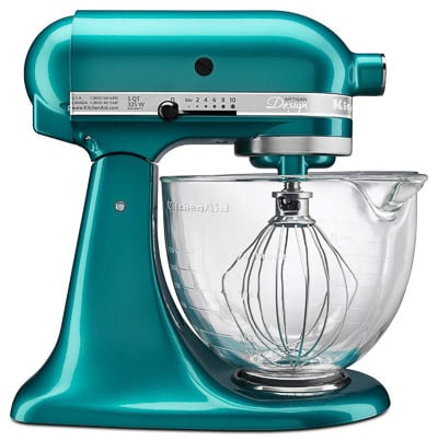 KitchenAid Mixer - Perfect Gifts for Cooks! 60 Kitchen Finds for Christmas on ASpicyPerspective.com