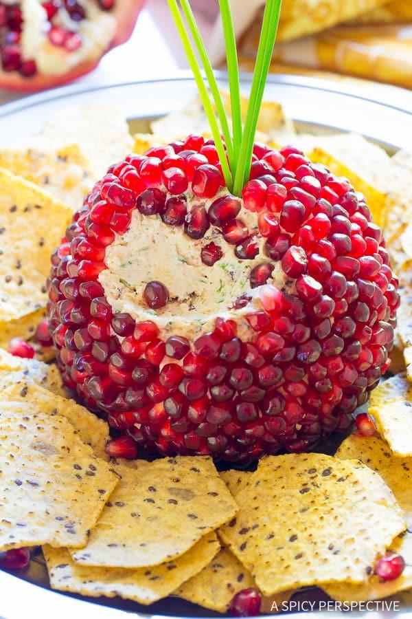 Cheese Ball Recipe #ASpicyPerspective