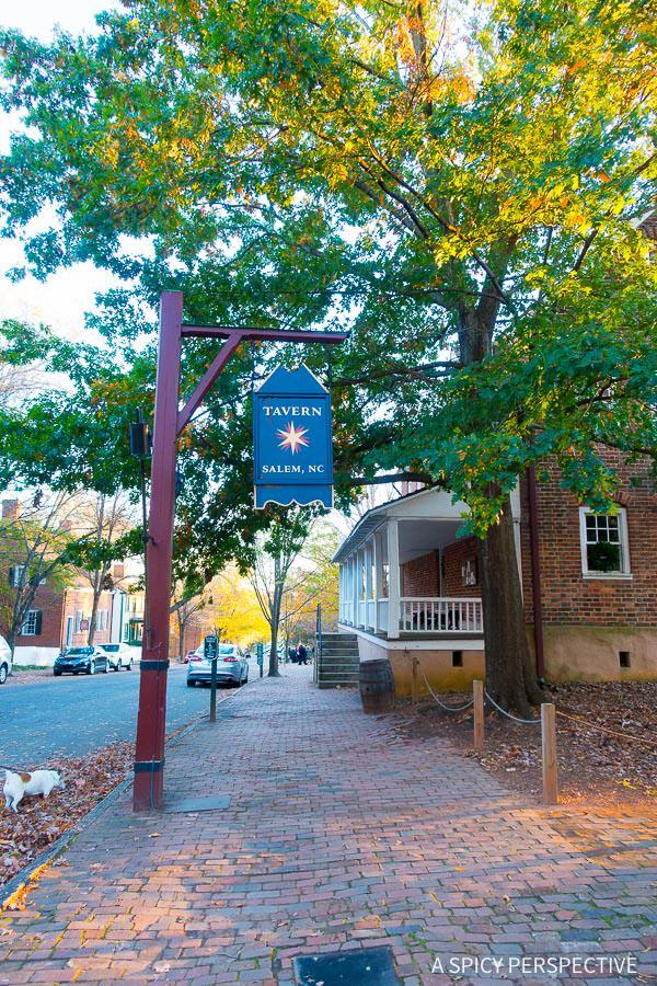 The Tavern - Weekend Away in Winston-Salem, North Carolina on ASpicyPerspective.com #travel