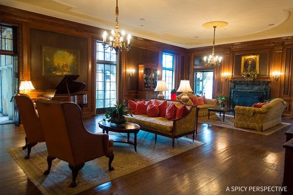Graylyn Estate - Weekend Away in Winston-Salem, North Carolina on ASpicyPerspective.com #travel