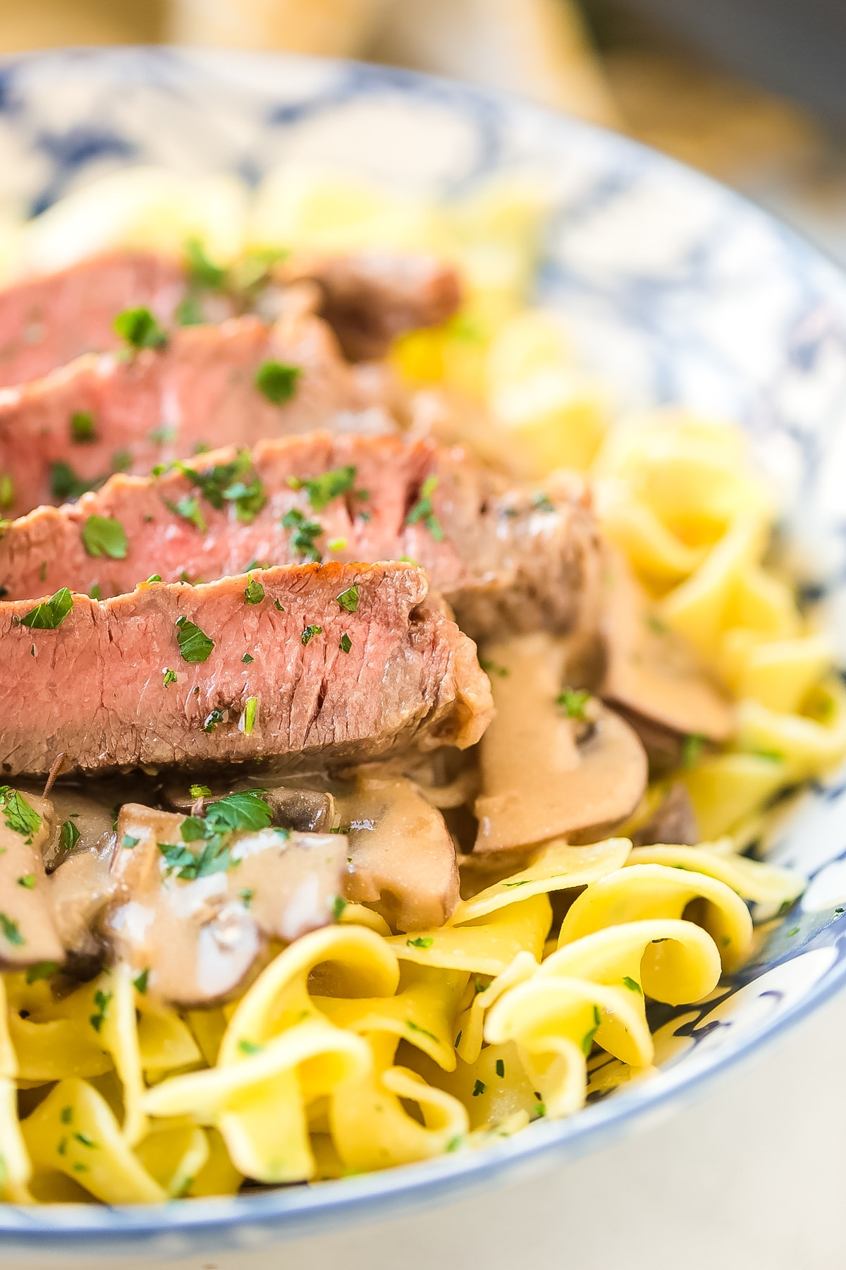Easy Beef Stroganoff Recipe with Butter Noodles Recipe #ASpicyPerspective #beef #stroganoff