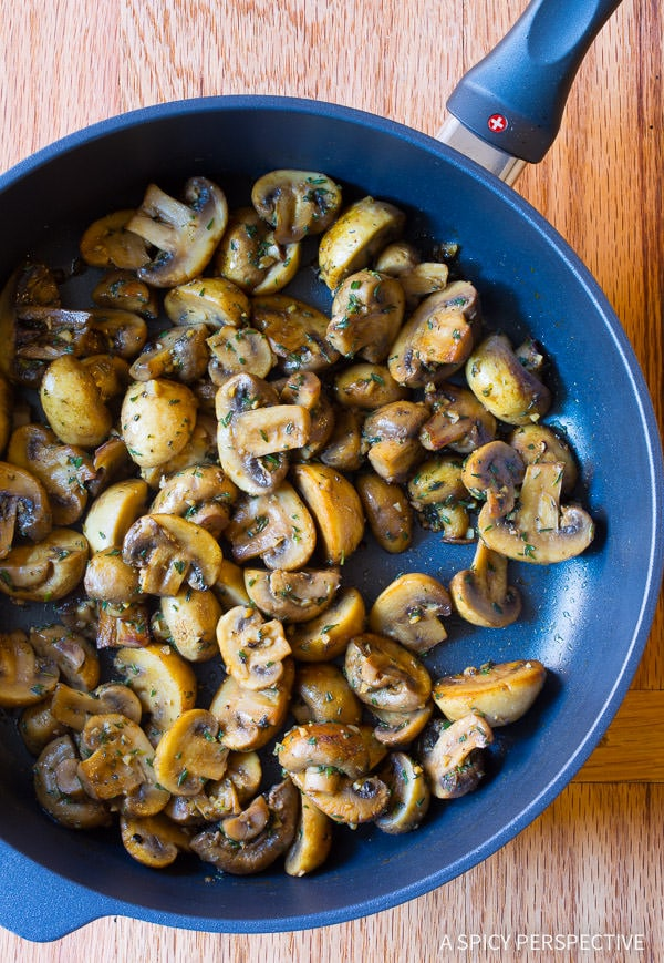 Sauteed Mushrooms #ASpicyPerspective #Mushrooms #SauteedMushrooms #SauteedMushroomsRecipe #MushroomRecipe #HowtoSauteeMushrooms #MushroomSideDish #SideDish