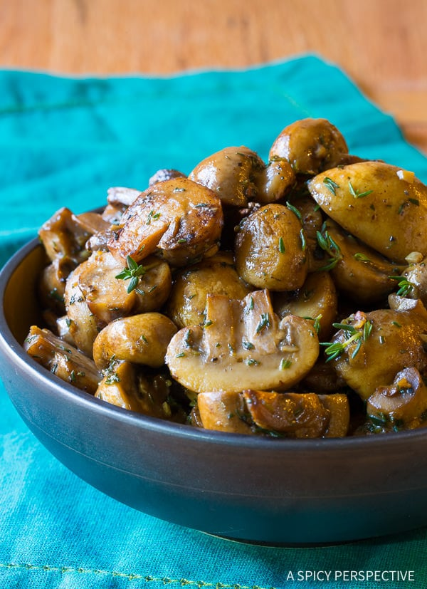 Mushroom Recipe #ASpicyPerspective #Mushrooms #SauteedMushrooms #SauteedMushroomsRecipe #MushroomRecipe #HowtoSauteeMushrooms #MushroomSideDish #SideDish