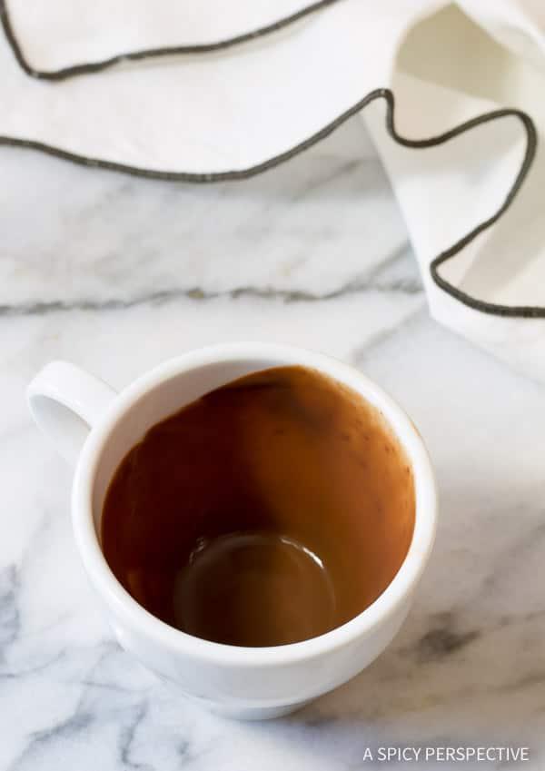 Glorious French Drinking Chocolate Recipe (Chocolat Chaud)   ASpicyPerspective.com