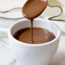 French Hot Chocolate Recipe   ASpicyPerspective.com
