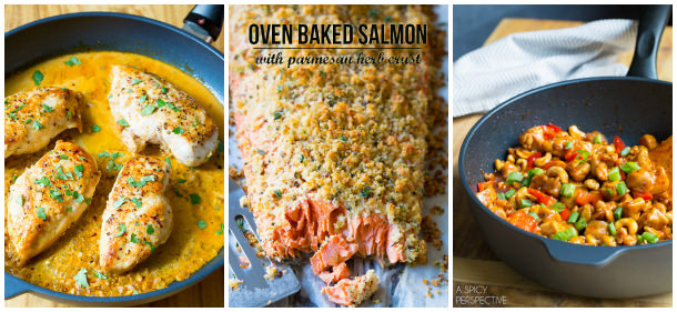 More Healthy Dinner Ideas on ASpicyPerspective.com