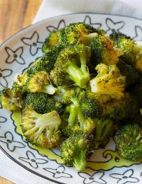 Crispy Perfect Roasted Broccoli Recipe | ASpicyPerspective.com