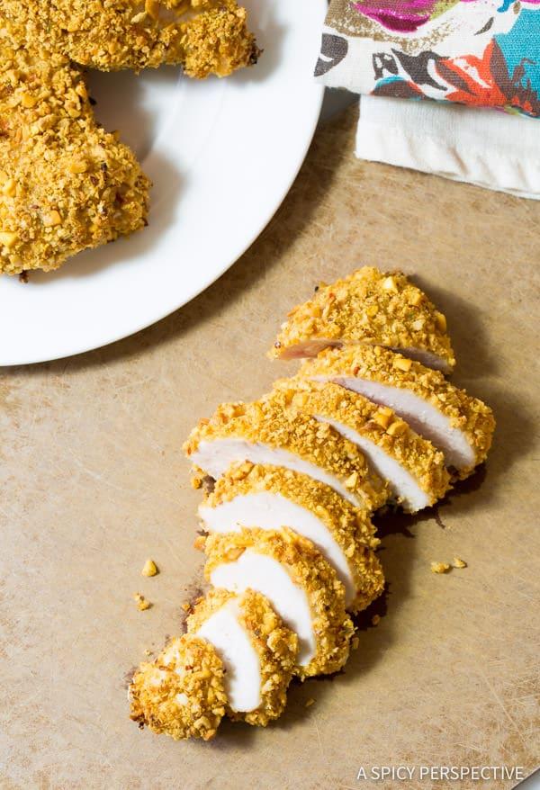 Crunchy Thai Peanut Chicken