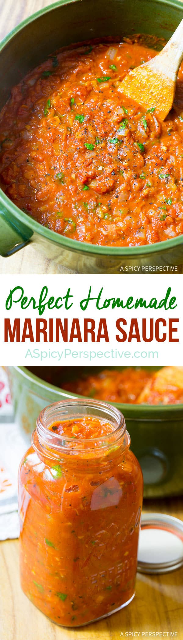 How to Make Marinara Sauce (with Recipe) | ASpicyPerspective.com