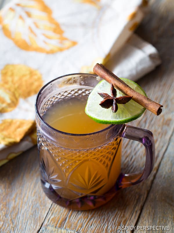 Five Spice Rum Toddy