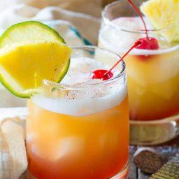 Drunken Monkey Cocktail | ASpicyPerspective.com