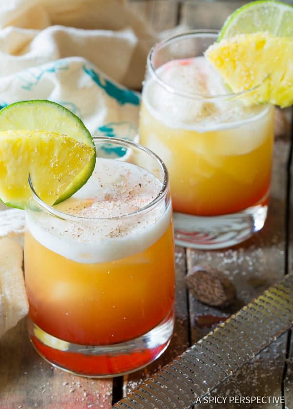 The Drunken Monkey Cocktail | ASpicyPerspective.com