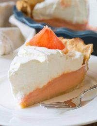 Grapefruit Cream Pie | ASpicyPerspective.com