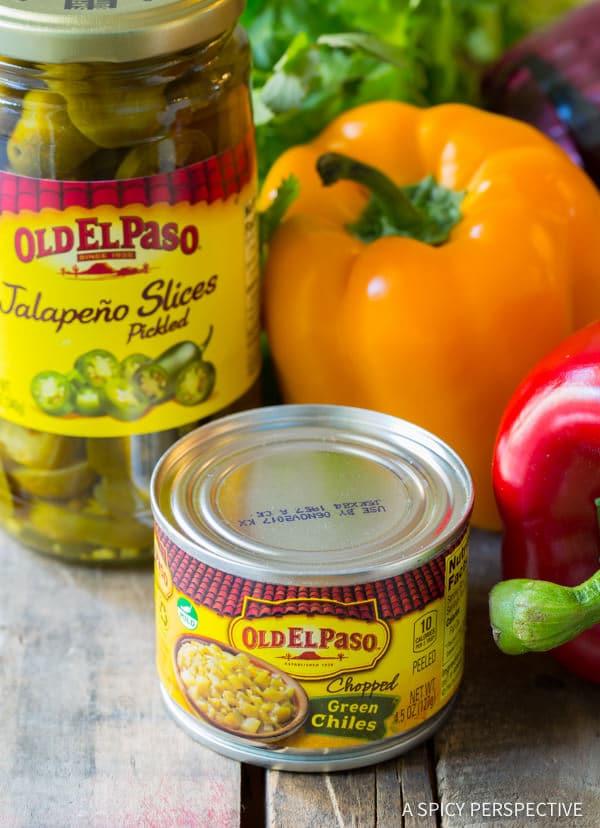 Old El Paso Ingredients #ASpicyPerspective #Rice #Caribbean #CaribbeanRice #CaribbeanRiceRecipe #ConfettiRice #SideDish #Jalapenos #Pineapple #BellPeppers #CoconutMilk