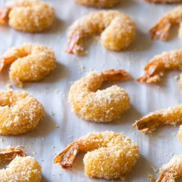 Paleo Coconut Shrimp Recipe (Pina Colada Shrimp & Gluten Free!) | ASpicyPerspective.com