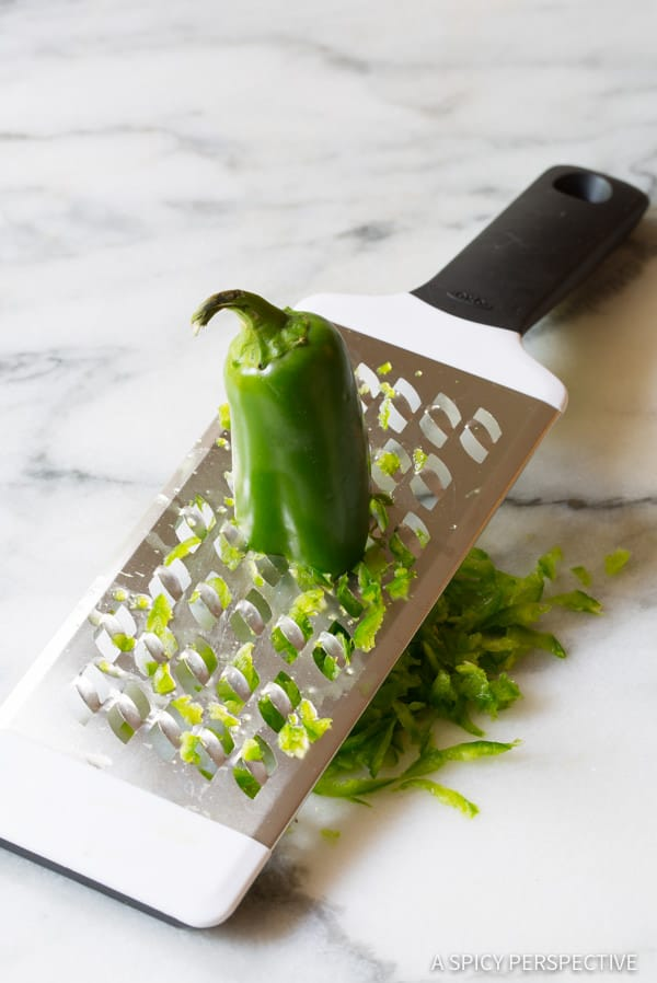 Shaved Jalapeno