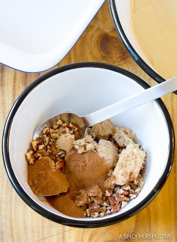 Making Kahlua Coffee Cake Recipe | ASpicyPerspective.com