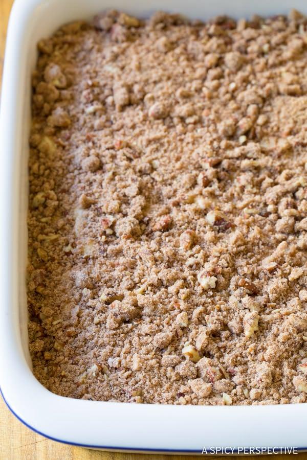 Fabulous Kahlua Coffee Cake Recipe | ASpicyPerspective.com