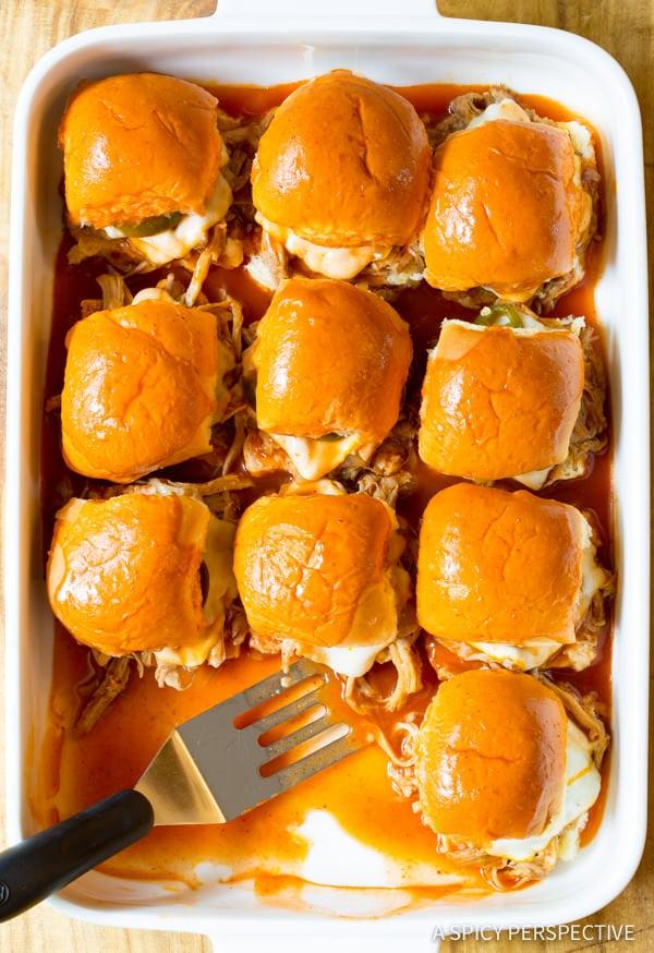 Drowned Carnitas Party Sandwiches (Torta Ahogada Recipe)   ASpicyPerspective.com