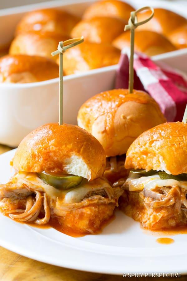 Drowned Carnitas Party Sandwiches (Torta Ahogada)   ASpicyPerspective.com
