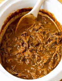 Slow Cooker Barbacoa Recipe   ASpicyPerspective.com