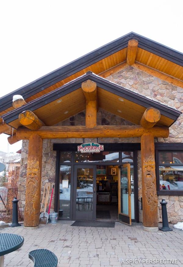Solitude Mountain Resort Pizza
