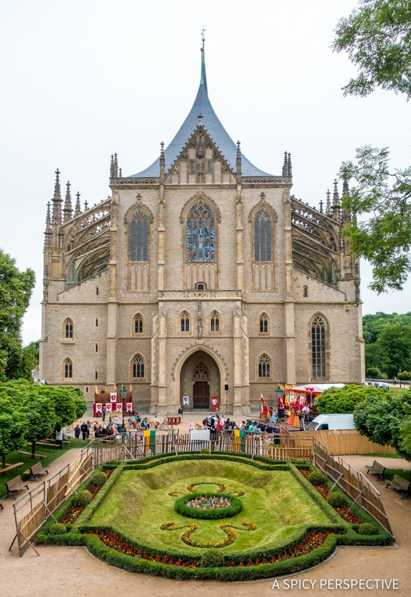 Saint Barbara's Cathedral - Amazing Day Trips from Prague | ASpicyPerspective.com #travel #europe