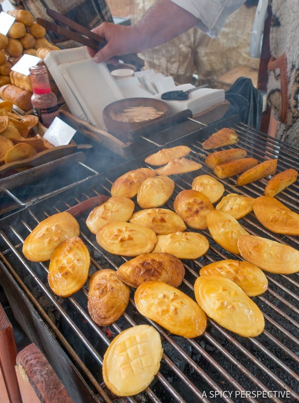 Street Food - Amazing Day Trips from Prague | ASpicyPerspective.com #travel #europe