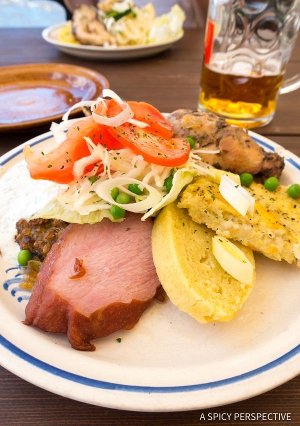 Cesky Krumlov Dining - Amazing Day Trips from Prague | ASpicyPerspective.com #travel #europe