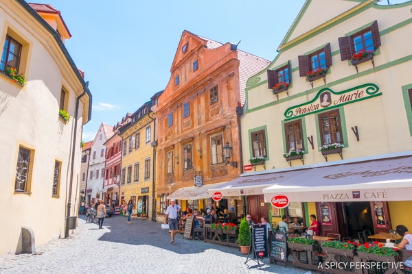 Charming Cesky Krumlov - Amazing Day Trips from Prague | ASpicyPerspective.com #travel #europe
