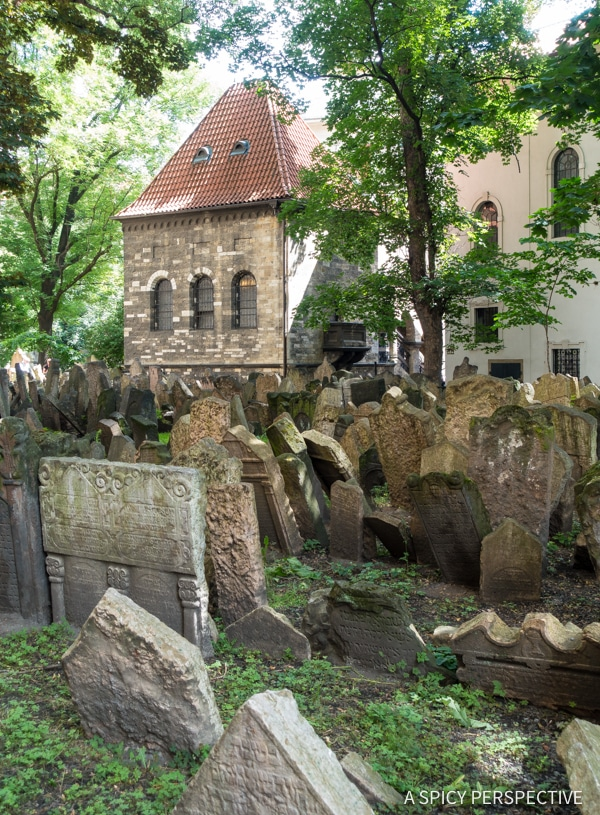 Jewish History - Top 10 Reasons to Visit Prague, Czech Republic | ASpicyPerspective.com #travel #europe