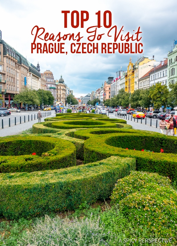 Top 10 Reasons to Visit Prague, Czech Republic | ASpicyPerspective.com #travel #europe