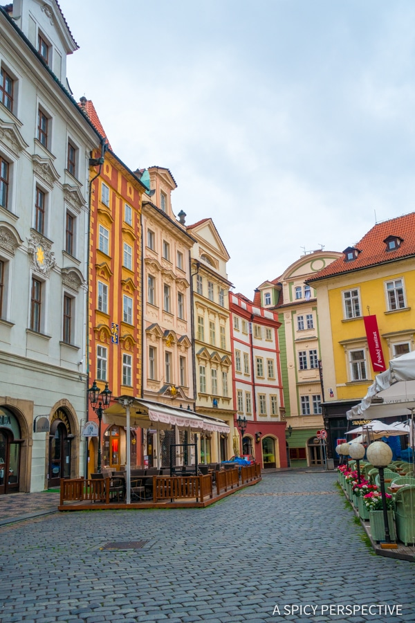 Looking Up - Top 10 Reasons to Visit Prague, Czech Republic | ASpicyPerspective.com #travel #europe
