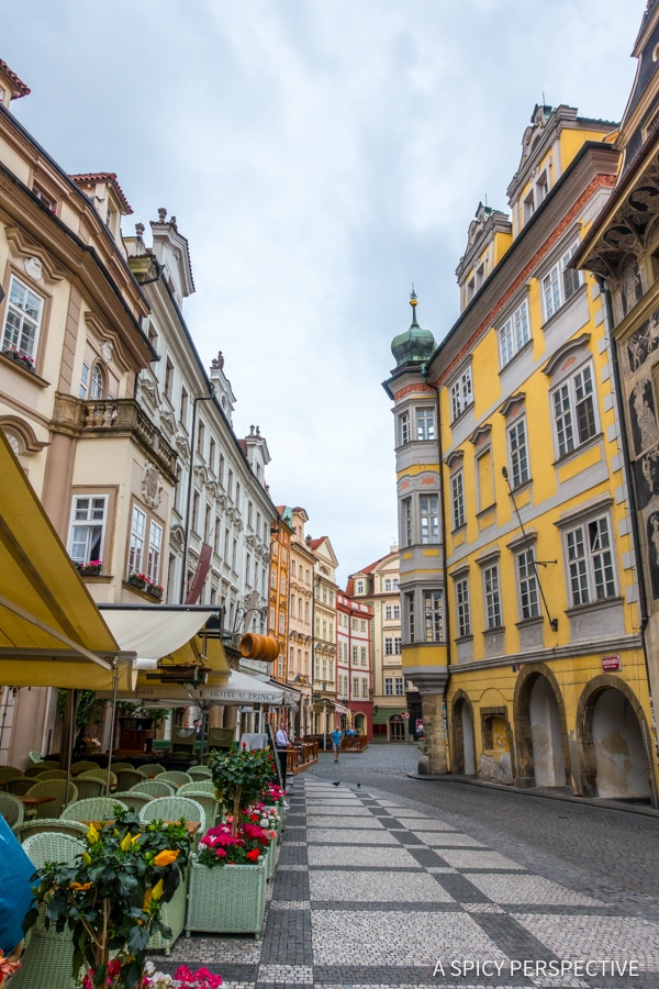 Charming Streets - Top 10 Reasons to Visit Prague, Czech Republic | ASpicyPerspective.com #travel #europe