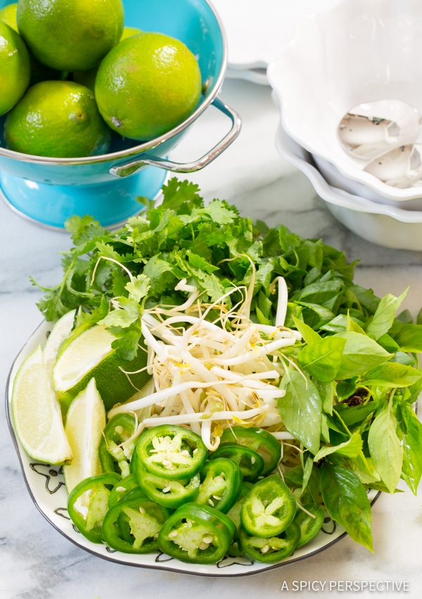 Vietnamese Chicken Pho with Zoodles