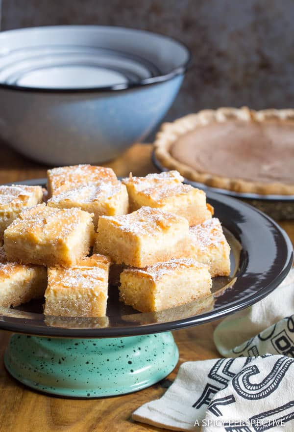 The Perfect Gooey Butter Cake Recipe From Scratch (Similar to Chess Squares and Philadelphia Style Cake) #holidays #christmas