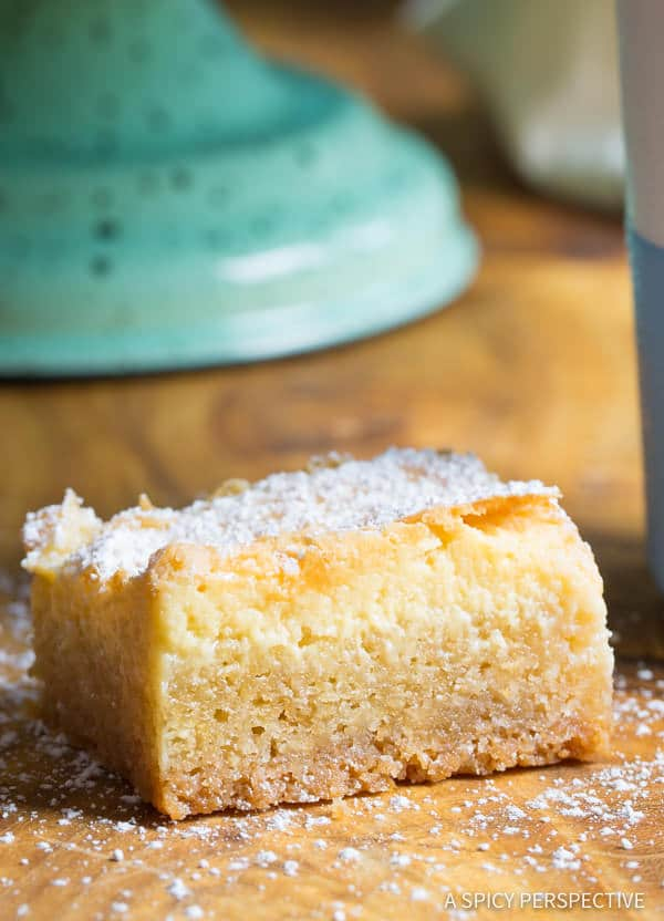 Making The Best Gooey Butter Cake Recipe From Scratch (Similar to Chess Squares and Philadelphia Style Cake) #holidays #christmas