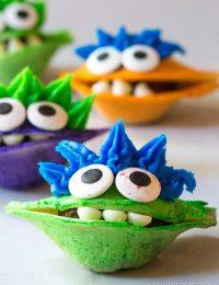 Chocolate Taco Monsters for Halloween! | ASpicyPerspective.com