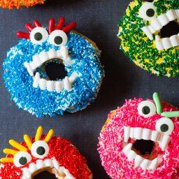 Halloween Monster Donuts | ASpicyPerspective.com