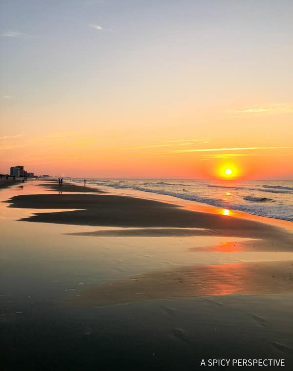 Sunrise: Myrtle Beach, Beyond The Boardwalk - Travel Tips for Making the Most of Your Myrtle Beach, South Carolina Vacation!