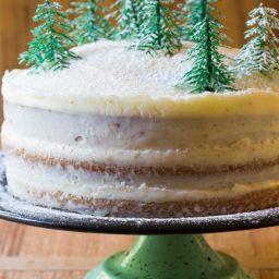 Amazing Cinnamon Dolce Latte Cake with mascarpone frosting