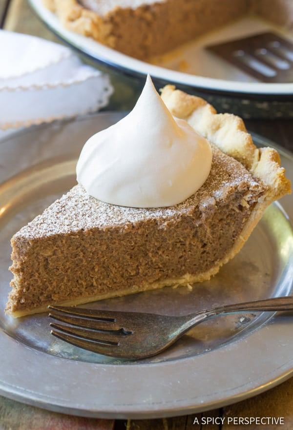 Cinnamon Pie Recipe   ASpicyPerspective.com