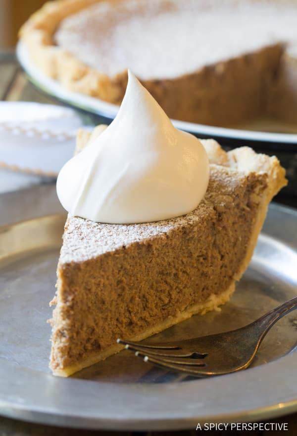 Perfect Cinnamon Pie Recipe   ASpicyPerspective.com